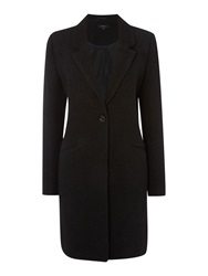 Therapy Boucle Boyfriend Coat Black