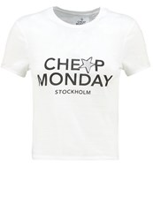 Cheap Monday Brace Print Tshirt White