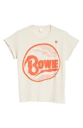 Madeworn 'S David Bowie Graphic T Shirt Off White