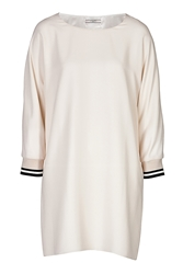 Bouchra Jarrar Ivory Dress