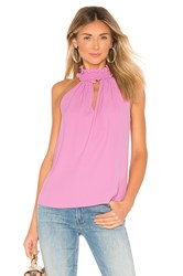 Amanda Uprichard Talita Top Pink