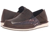 Ariat Cruiser Palm Brown Camo Men's Slip On Shoes