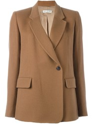Each X Other Flap Pockets Folded Blazer Brown