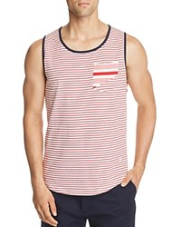 Sovereign Code Yield Striped Tank Red