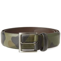 Andersons Anderson's Grain Leather Belt Green