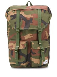 Herschel Supply Co. Delta Camouflage Print Backpack Brown
