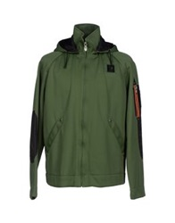Piero Guidi Jackets Military Green