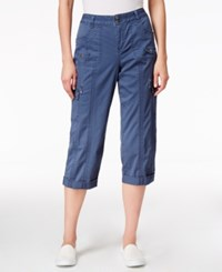 Styleandco. Style Co. Cargo Capri Pants Only At Macy's New Uniform Blue