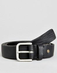 Selected Homme Belt Leather Black