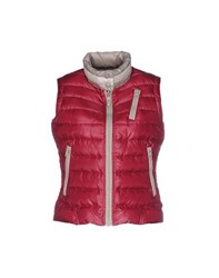 Club Des Sports Coats And Jackets Down Jackets Women Garnet