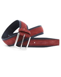 Menlook Label Elliot Bordeaux Navy Belt