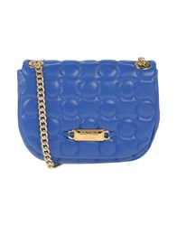 Boutique Moschino Handbags Bright Blue