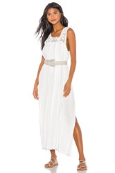 Jens Pirate Booty Queen Anne Maxi Dress White