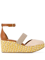 Malone Souliers Wedge Sandal Neutrals