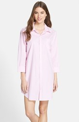 Women's Lauren Ralph Lauren Cotton Poplin Sleep Shirt