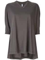 08Sircus Oversized T Shirt Grey