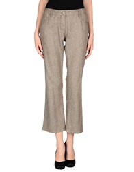 Maliparmi Trousers Casual Trousers Women Khaki