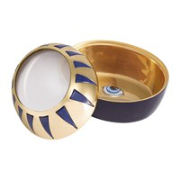 L'objet Lito Eye Magnifying Box Blue And Gold
