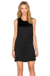 Generation Love Nessa Fringe Dress Black