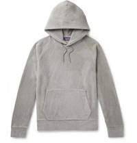 Ralph Lauren Purple Label Fleece Hoodie Gray