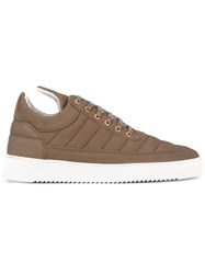 Filling Pieces Padded Sneakers Brown