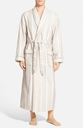 Men's Majestic International 'Breakers' Herringbone Cotton Robe