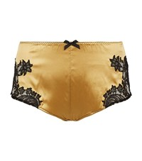 Agent Provocateur Nayeli French Knickers Female Yellow