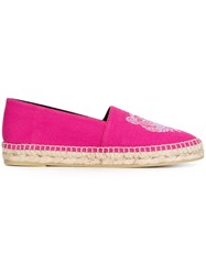 Kenzo 'Tiger' Espadrilles Pink And Purple