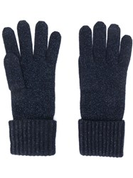 N.Peal Ribbed Knit Gloves 60