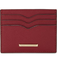Rebecca Minkoff Everyday Leather Card Holder Deep Red