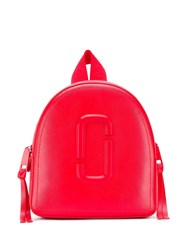 Marc Jacobs Block Colour Backpack Red