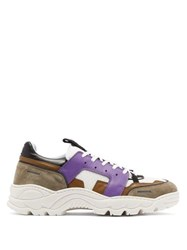 Ami Alexandre Mattiussi Running Lucky 9 Low Top Trainers Purple