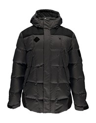 Spyder Diehard Parka Down Jacket Polar Black