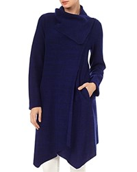 Phase Eight Bellona Waterfall Coat Electric Blue