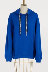 Proenza Schouler Hooded Sweatshirt 00419 Royal Blue