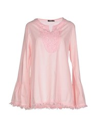 Care Of You Shirts Blouses Women Pink