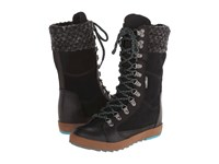 Cushe Boho Chill Wp Black Women's Lace Up Boots