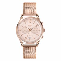 Henry London Ladies 39Mm Shoreditch Chronograph Stainless Steel Bracelet Watch Rose Gold Neutrals