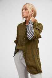 Cp Shades X Free People Womens Swing Plaid Tunic