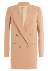 Michael Kors Collection Virgin Wool Blazer Brown