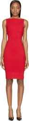Dsquared Red Open Back Dress