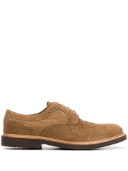 Eleventy Perforated Low Heel Oxford Shoes 60