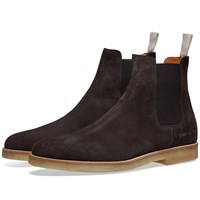 Common Projects Suede Chelsea Boot Brown