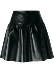Red Valentino A Line Swing Skirt Black