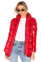 Add Down Jacket Red