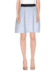Pinko Skirts Knee Length Skirts Women Sky Blue