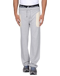 John Galliano Casual Pants Light Grey