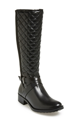 Andre Assous Andre Assous 'Seabiscuit' Waterproof Quilted Boot Women Black