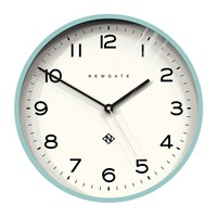 Newgate Number Three Echo Wall Clock Aquamarine