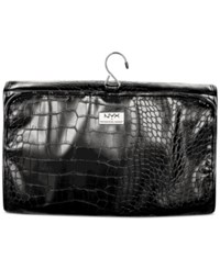Nyx Black Croc Embossed Travel Makeup Bag No Color